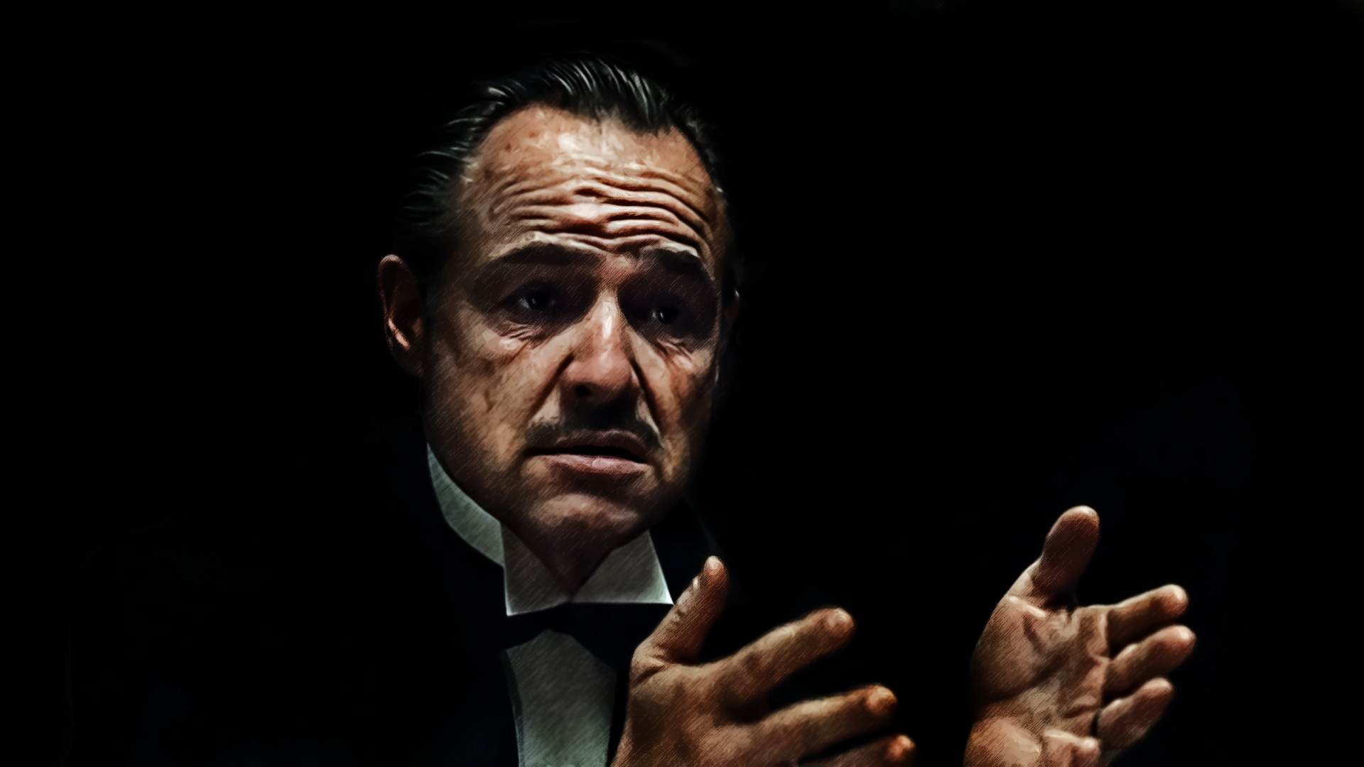 the godfather full hd wallpaper and background image