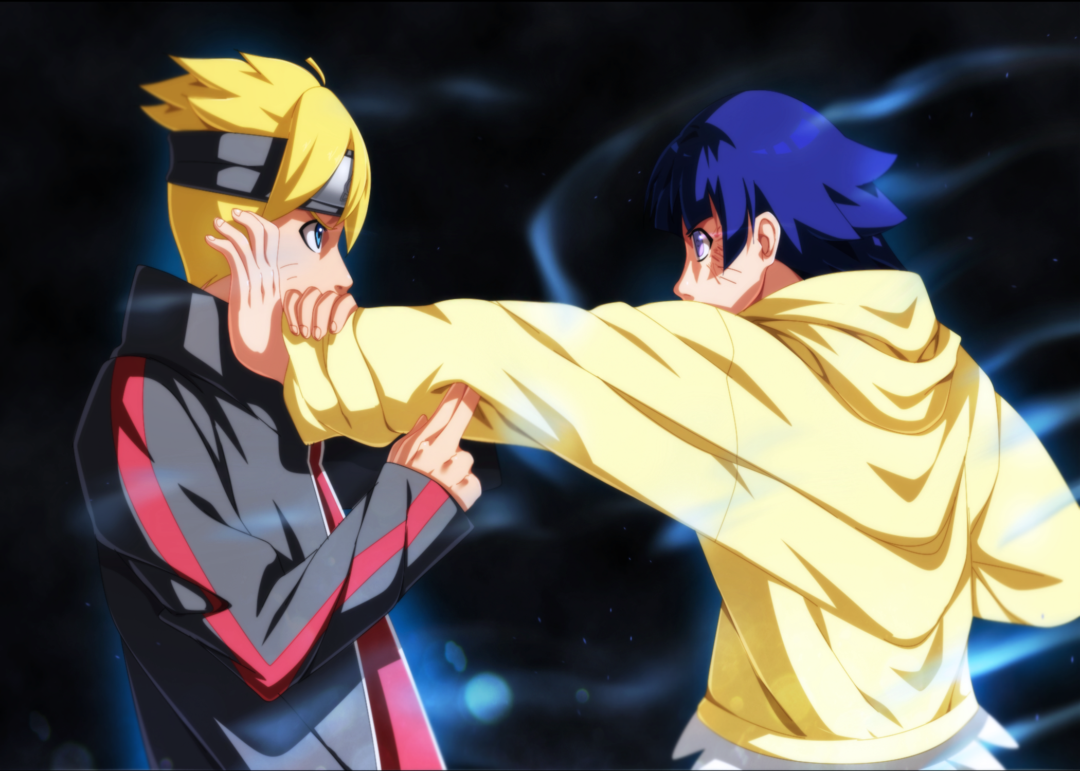 boruto and himawari full hd fond d cran and arri re plan