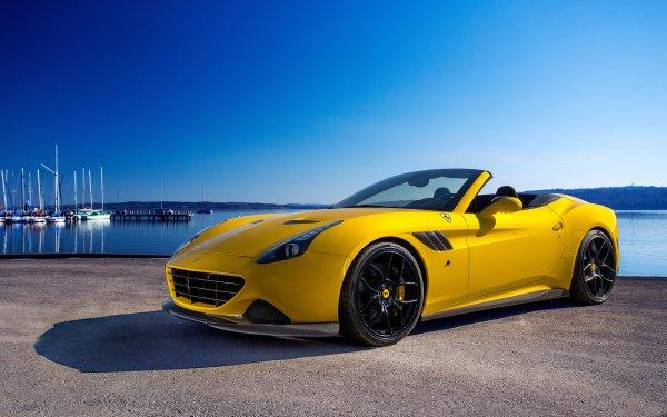 Vehicles Ferrari California T Ferrari Car Yellow Car Luxury HD Wallpaper | Background Image