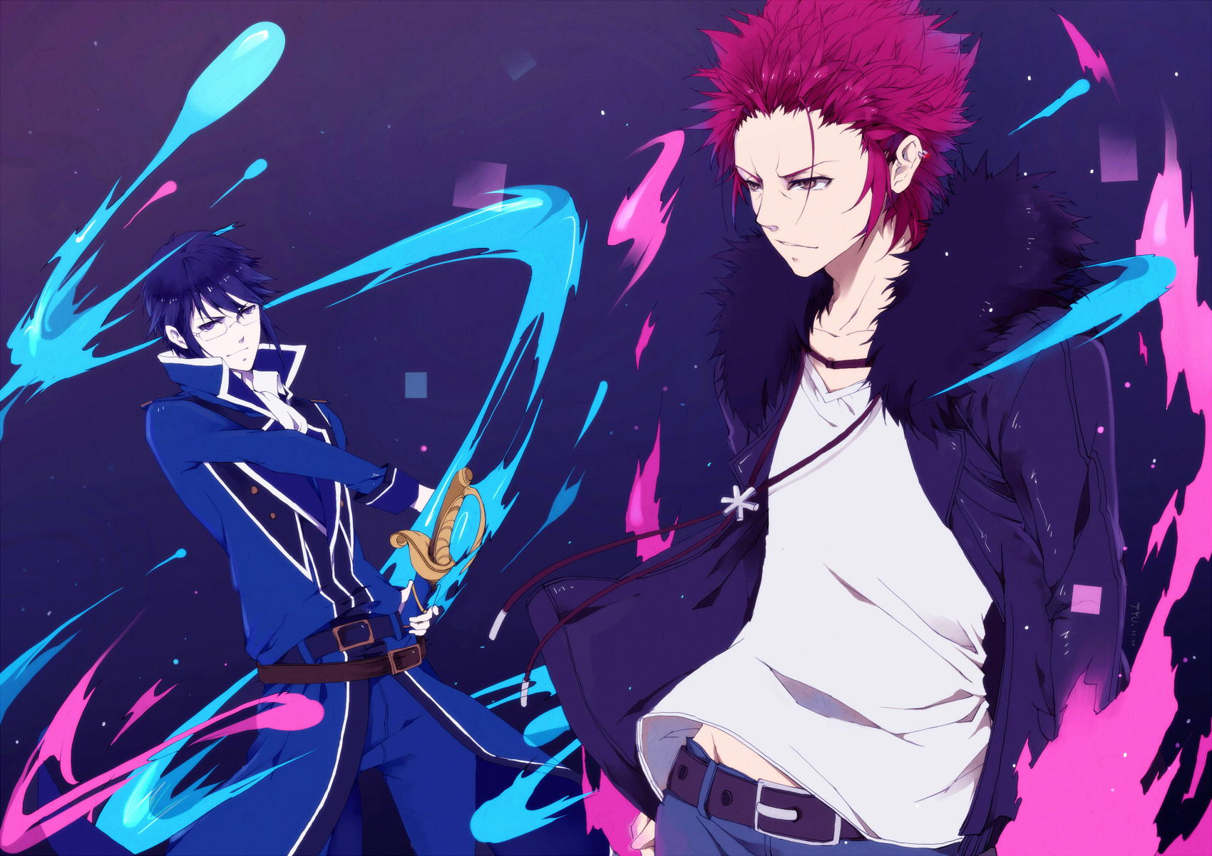 Mikoto And Reisi Wallpaper And Background Image