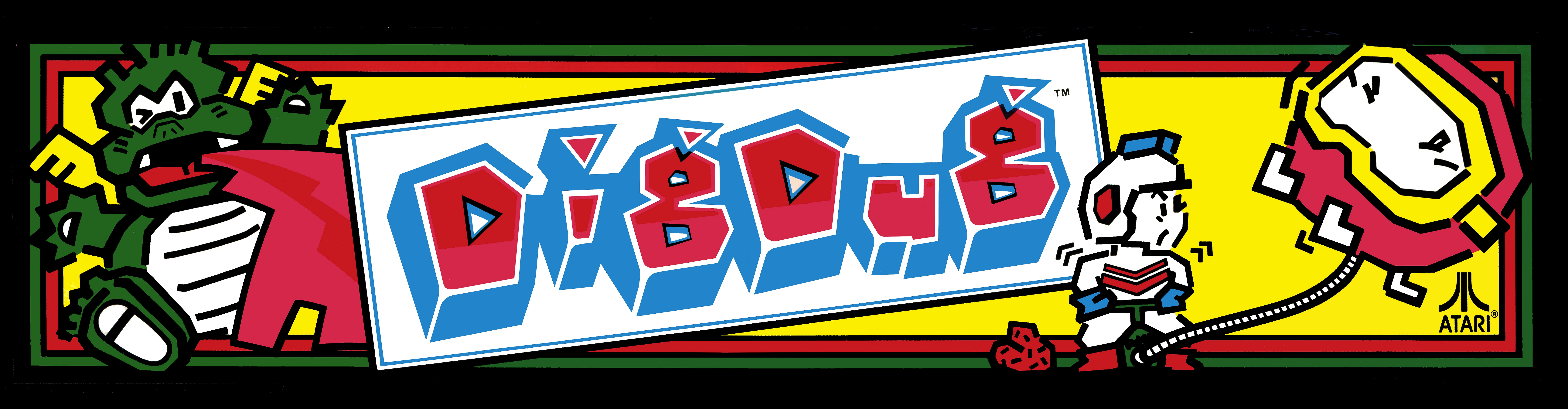 Dig Dug 4k Ultra Hd Wallpaper Background Image 8300x2165 Id