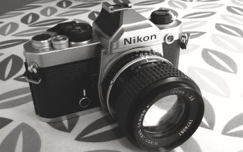 Camera Lens Nikon HD Wallpaper
