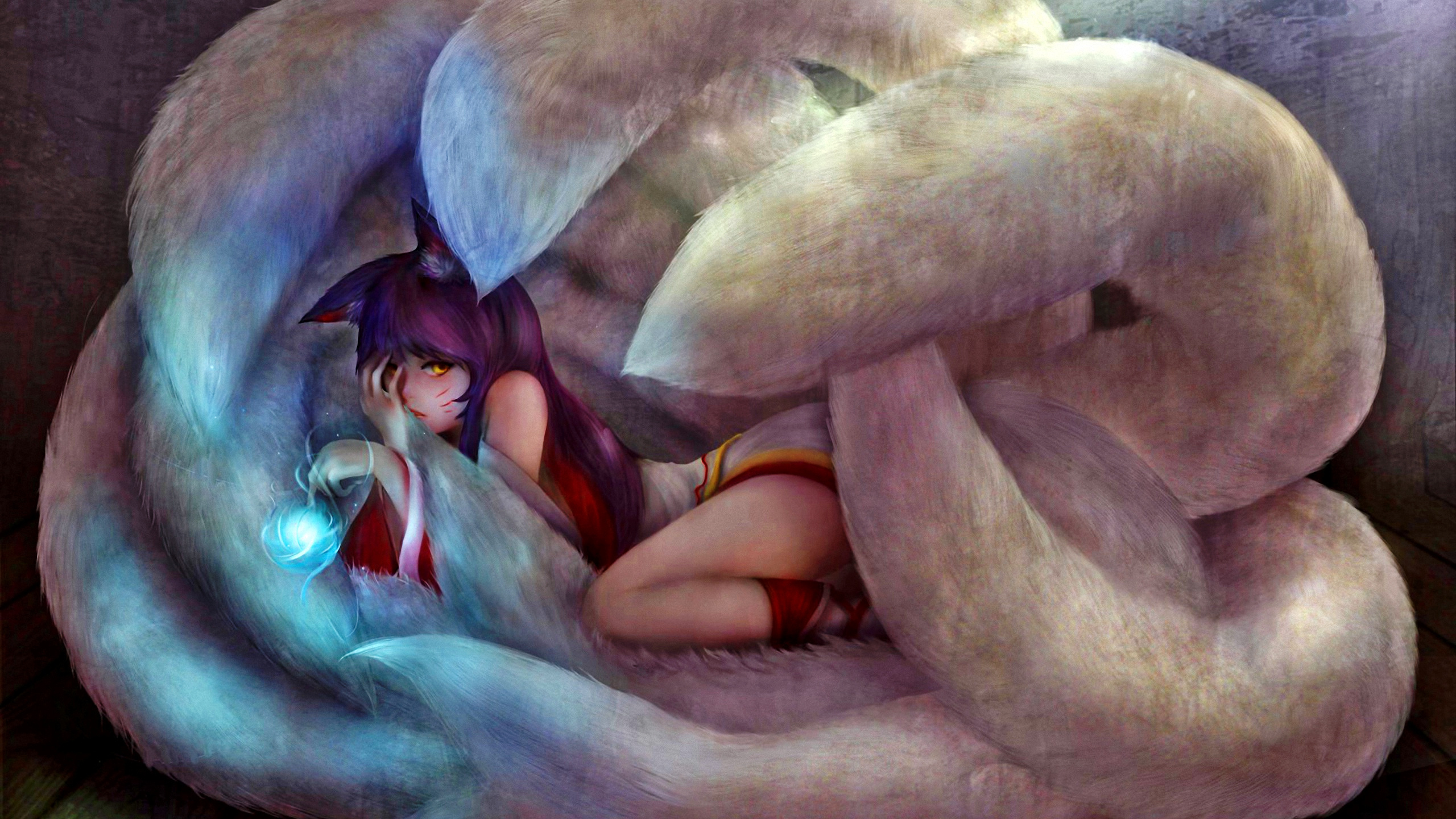 Ahri Full HD Wallpaper And Background Image