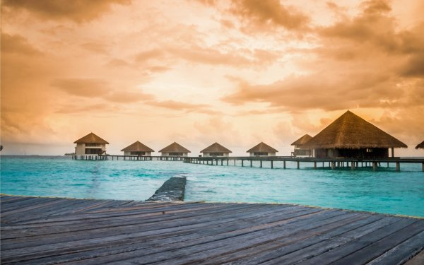 Photography Holiday Maldives Caribbean Ocean Tropical HD Wallpaper | Background Image