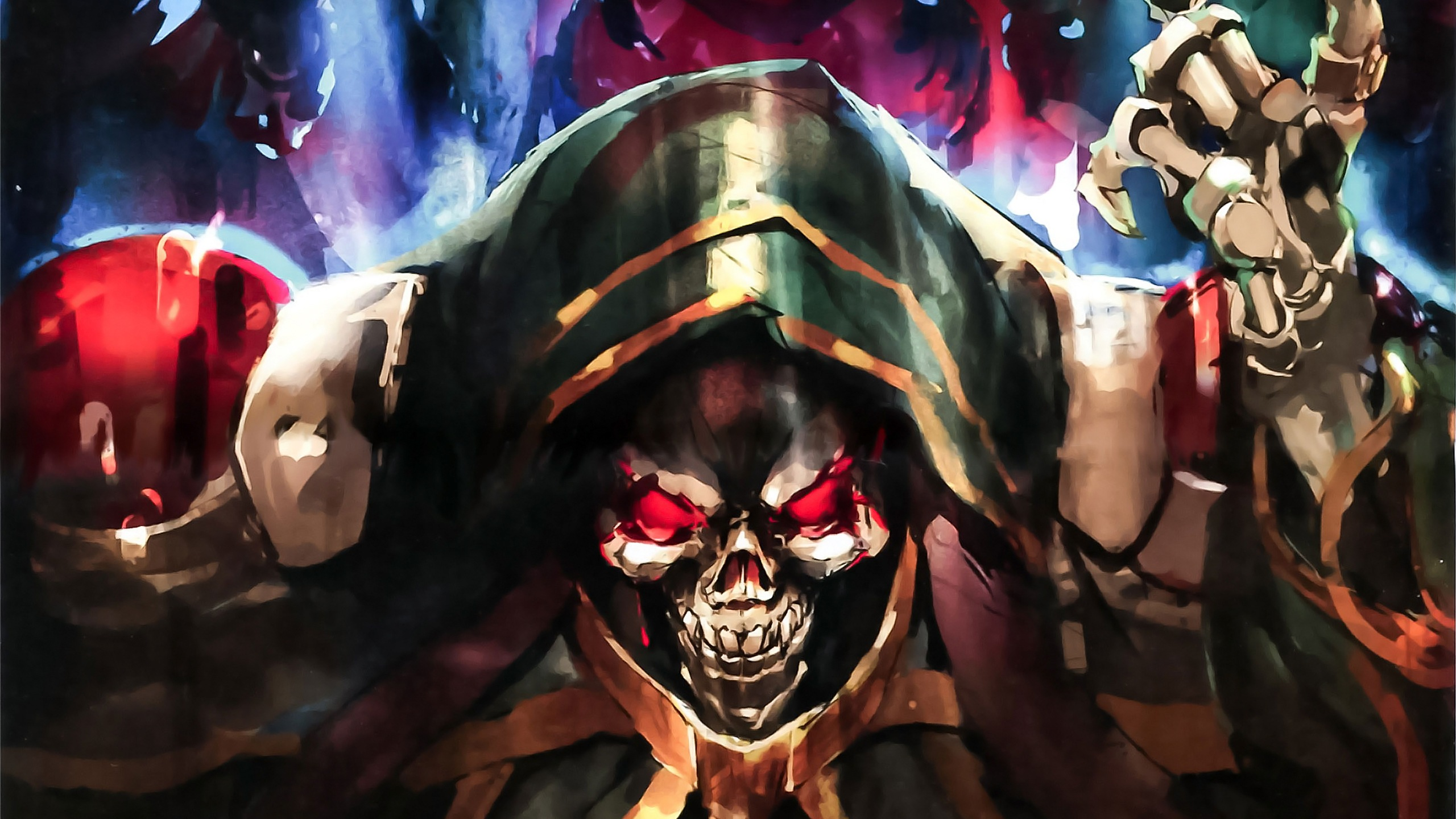 73 Ainz Ooal Gown Hd Wallpapers Background Images Wallpaper Abyss