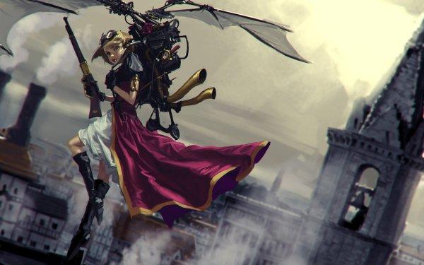Sci Fi Steampunk HD Wallpaper | Background Image