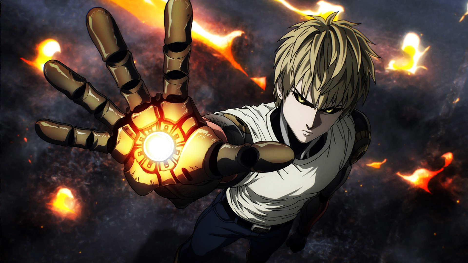 94 genos one punch man hd wallpapers backgrounds - Funny one punch man wallpaper ...