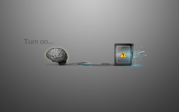 Misc Motivational Brain Electricity HD Wallpaper   Background Image