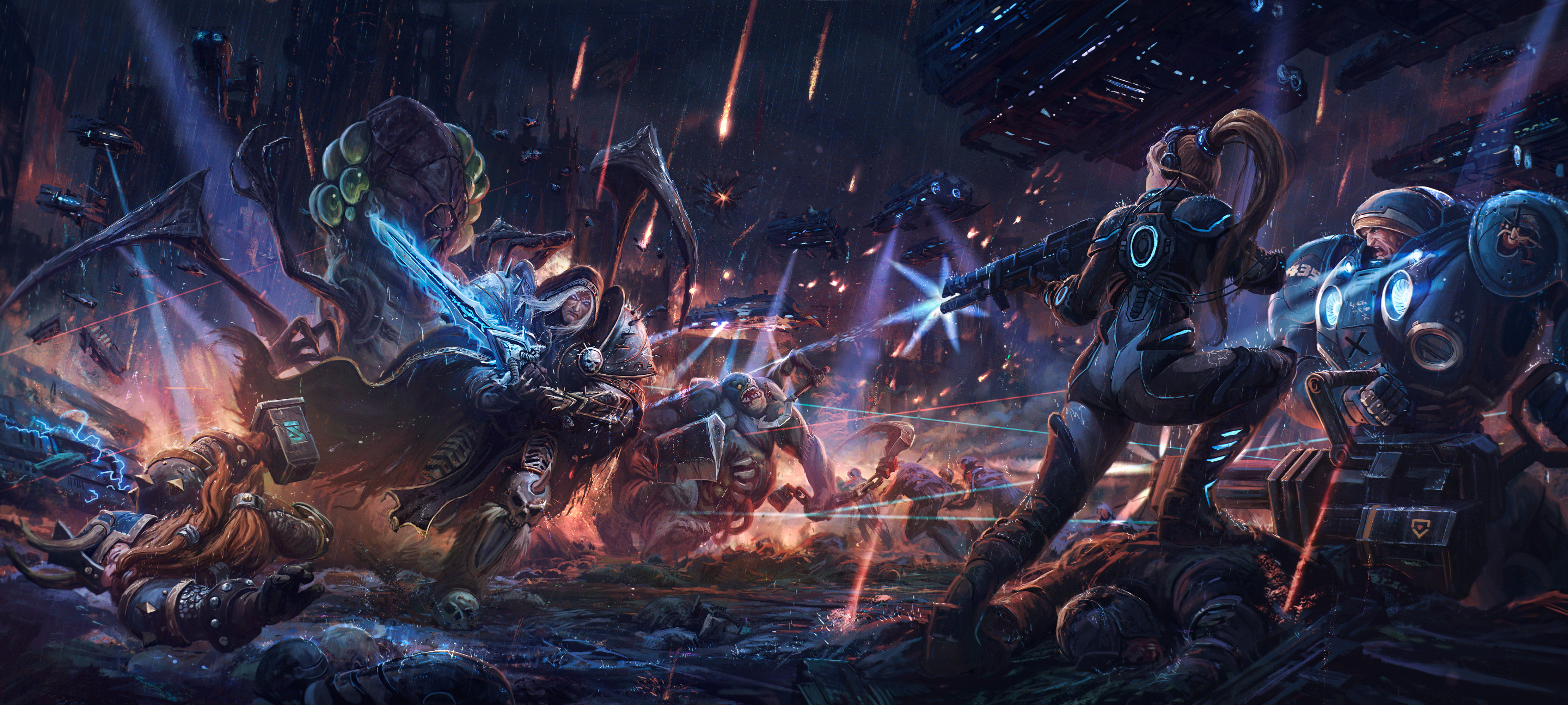 heroes of the storm wallpaper  123 Heroes of the Storm HD Wallpapers | Background Images ...