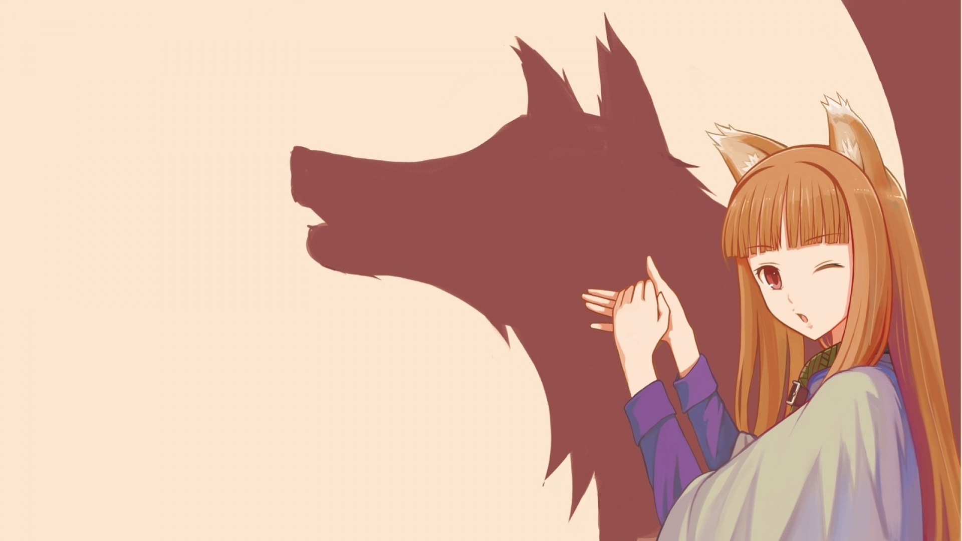 Spice and Wolf Full HD Wallpaper and Background ...