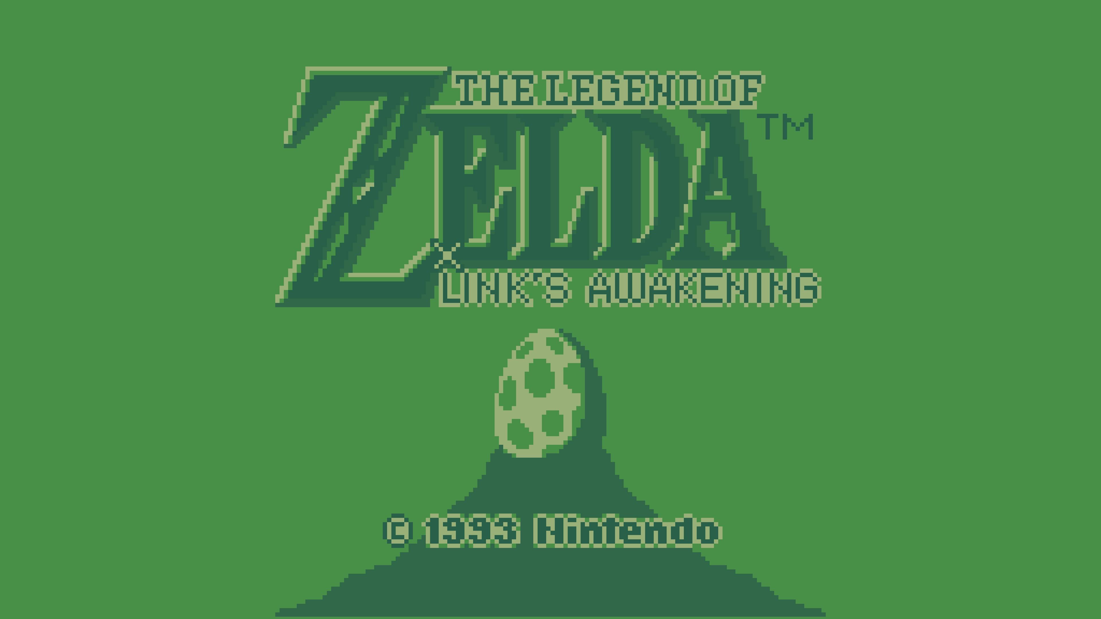 The Legend Of Zelda Links Awakening 4k Ultra Hd Wallpaper
