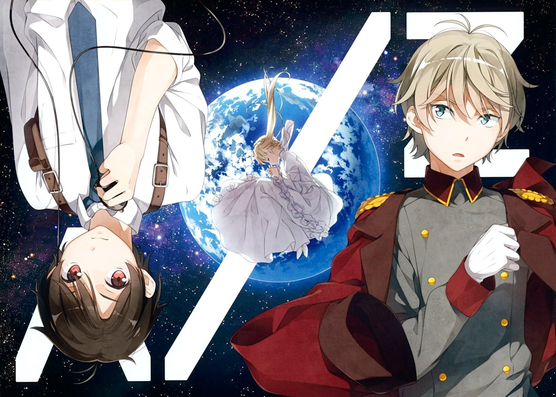 Anime - Aldnoah.Zero  Asseylum Vers Allusia Inaho Kaizuka Slaine Troyard Wallpaper