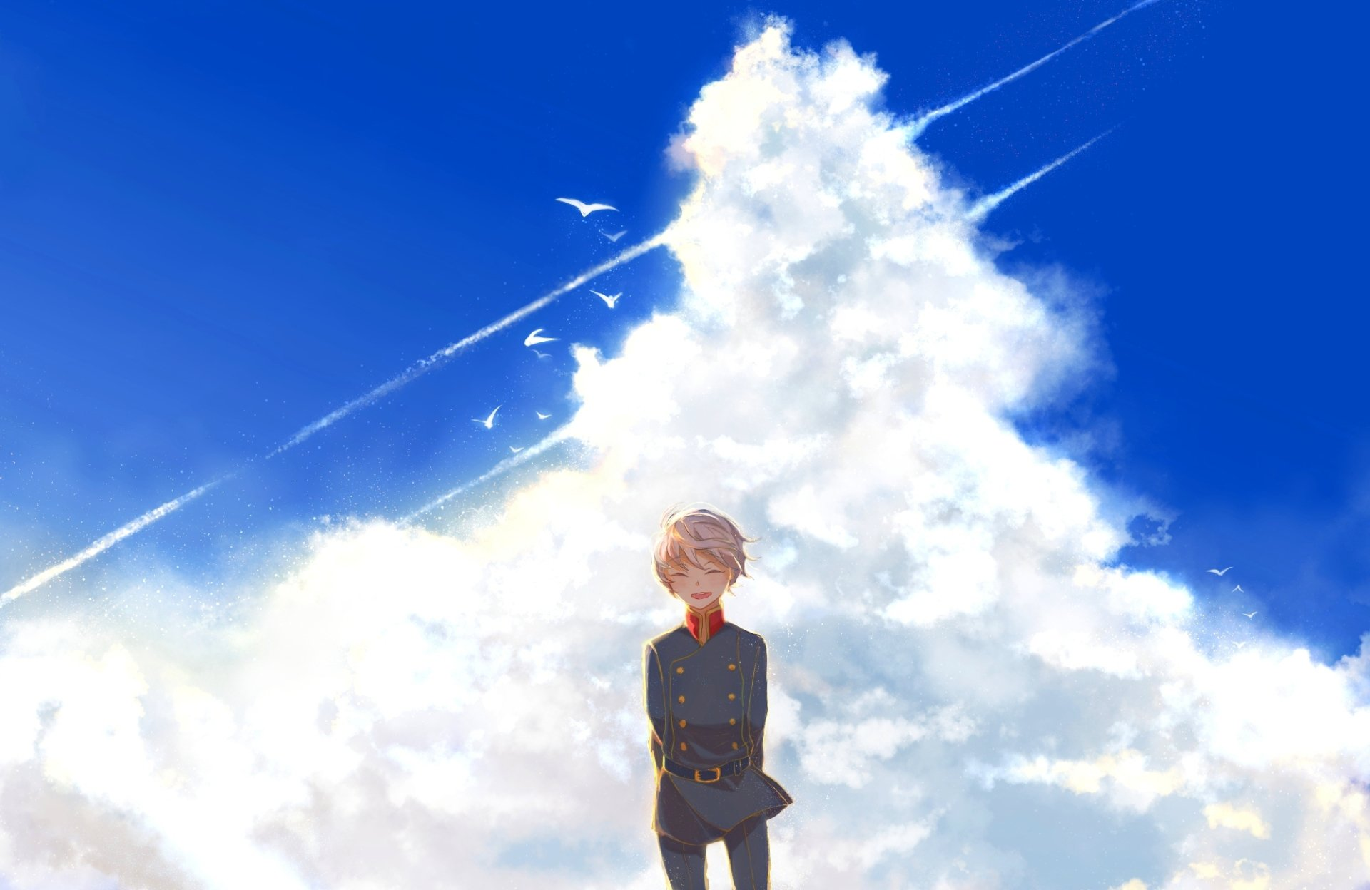 Anime - Aldnoah.Zero  Slaine Troyard Cloud Wallpaper