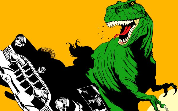 Video Game Cadillacs and Dinosaurs Dinosaurs HD Wallpaper | Background Image