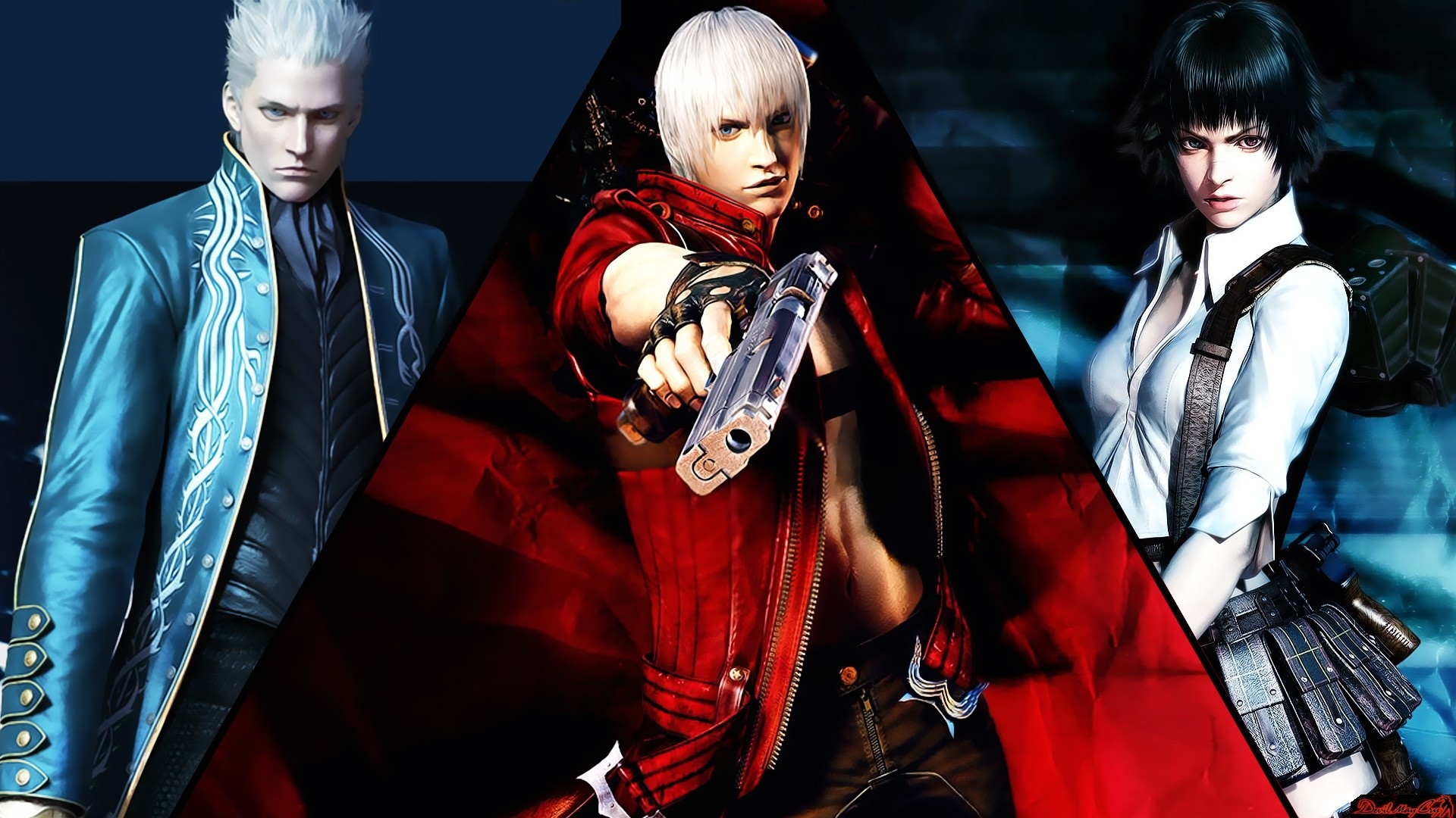 Devil May Cry 3 Dante S Awakening Hd Wallpaper Background