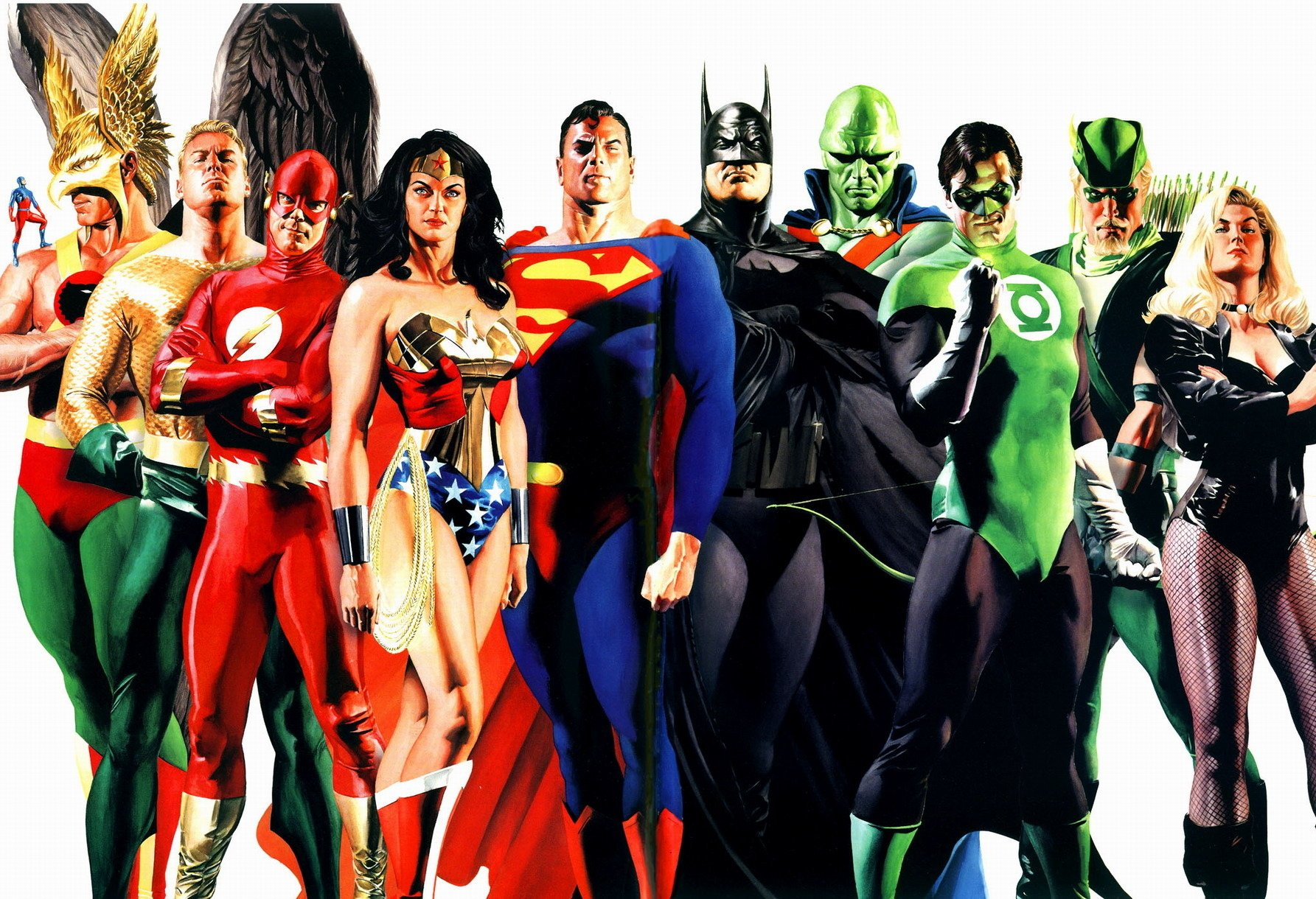 89 Justice League Of America Hd Wallpapers Background Images
