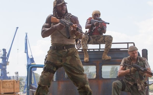 Movie The Expendables 3 The Expendables Wesley Snipes Doc Toll Road Randy Couture Hale Caesar Terry Crews HD Wallpaper | Background Image
