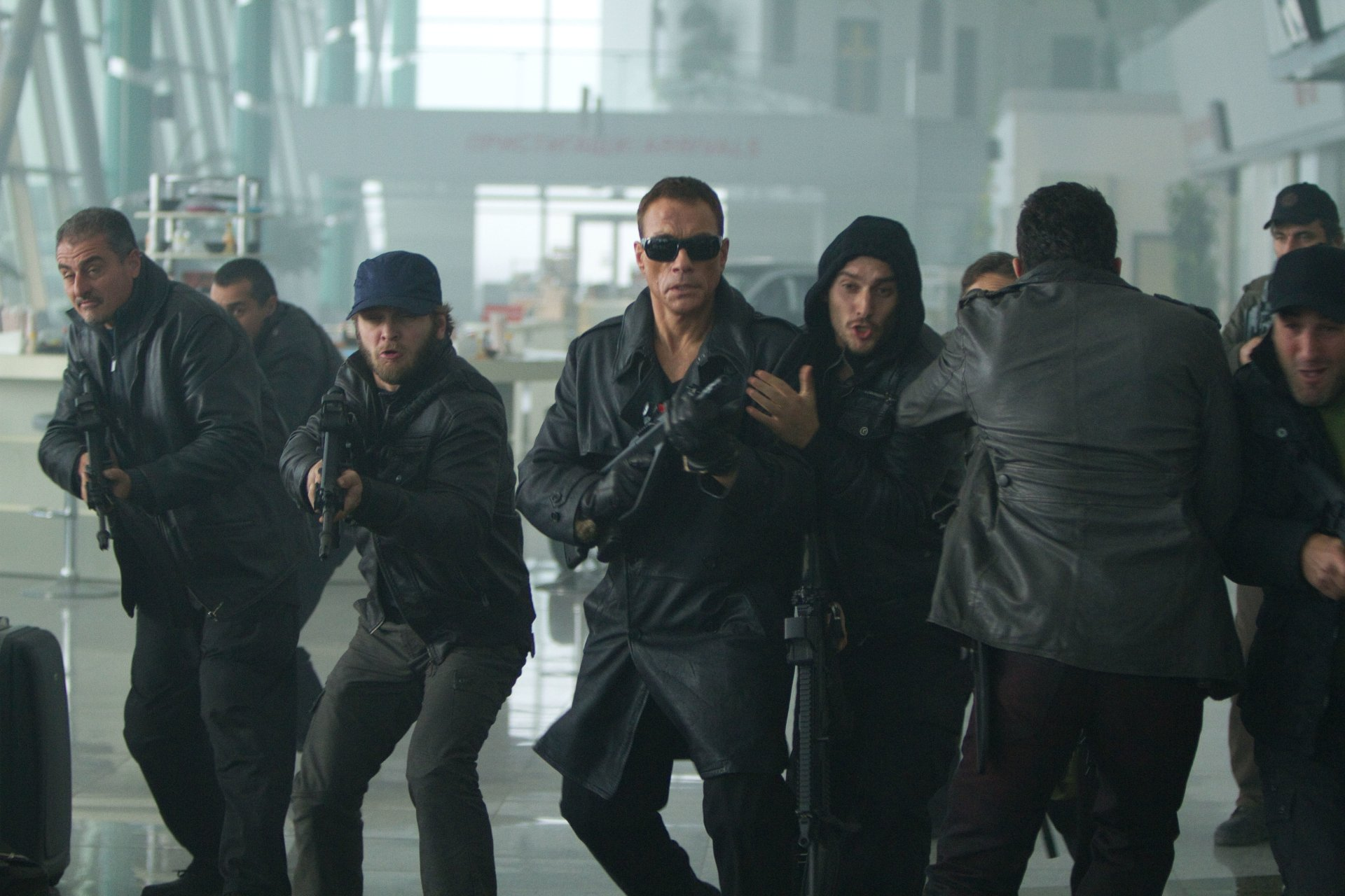 Movie - The Expendables 2  Jean-claude Van Damme Vilain (The Expendables) Wallpaper