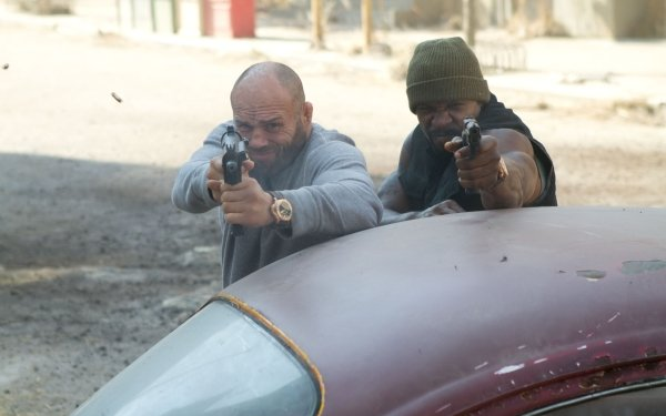 Movie The Expendables 2 The Expendables Hale Caesar Terry Crews Toll Road Randy Couture HD Wallpaper | Background Image