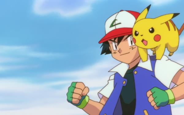 Anime Pokémon The Movie: Mewtwo Strikes Back Pokémon Ash Ketchum Pikachu Fondo de pantalla HD | Fondo de Escritorio