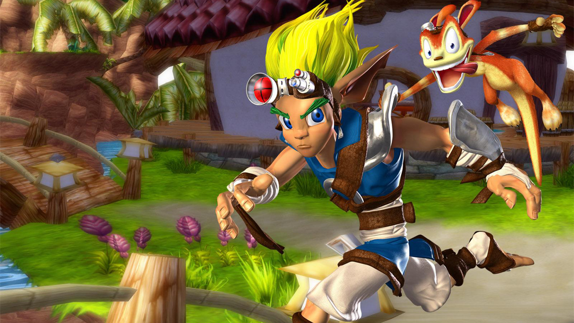 Jak And Daxter Wallpaper 12835803: Jak And Daxter: The Precursor Legacy HD Wallpaper