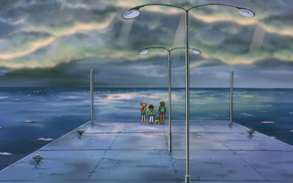 Anime Pokémon The Movie: Mewtwo Strikes Back Pokémon Ash Ketchum Misty Brock Pikachu Fondo de pantalla HD | Fondo de Escritorio
