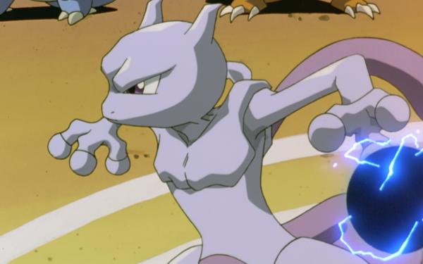 Anime Pokémon The Movie: Mewtwo Strikes Back Pokémon Mewtwo Fondo de pantalla HD | Fondo de Escritorio