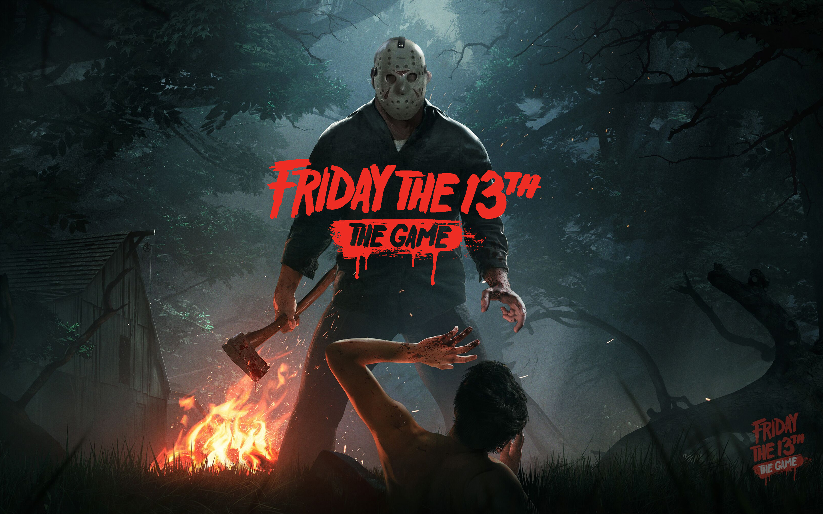 friday the 13th the game hd wallpaper background image 2880x1800