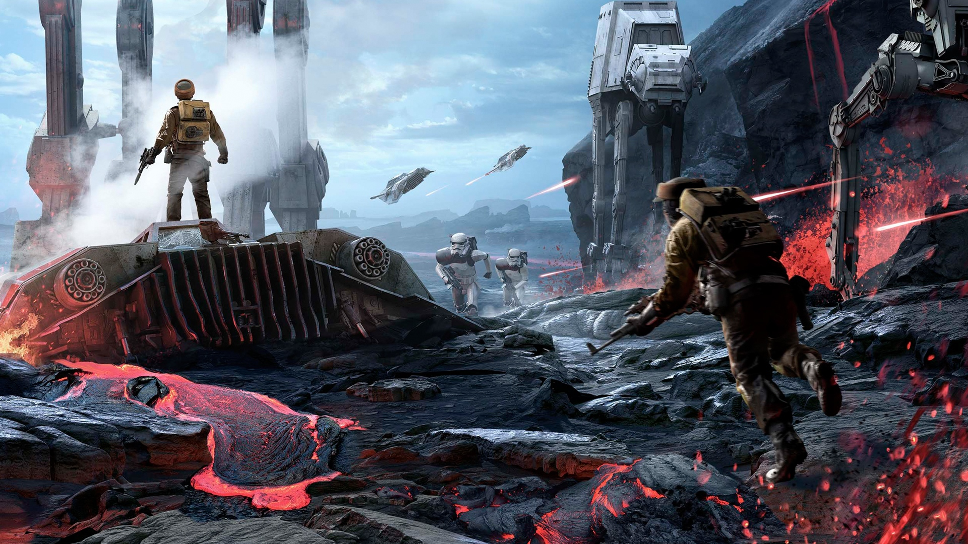 star wars battlefront (2015) full hd wallpaper and background