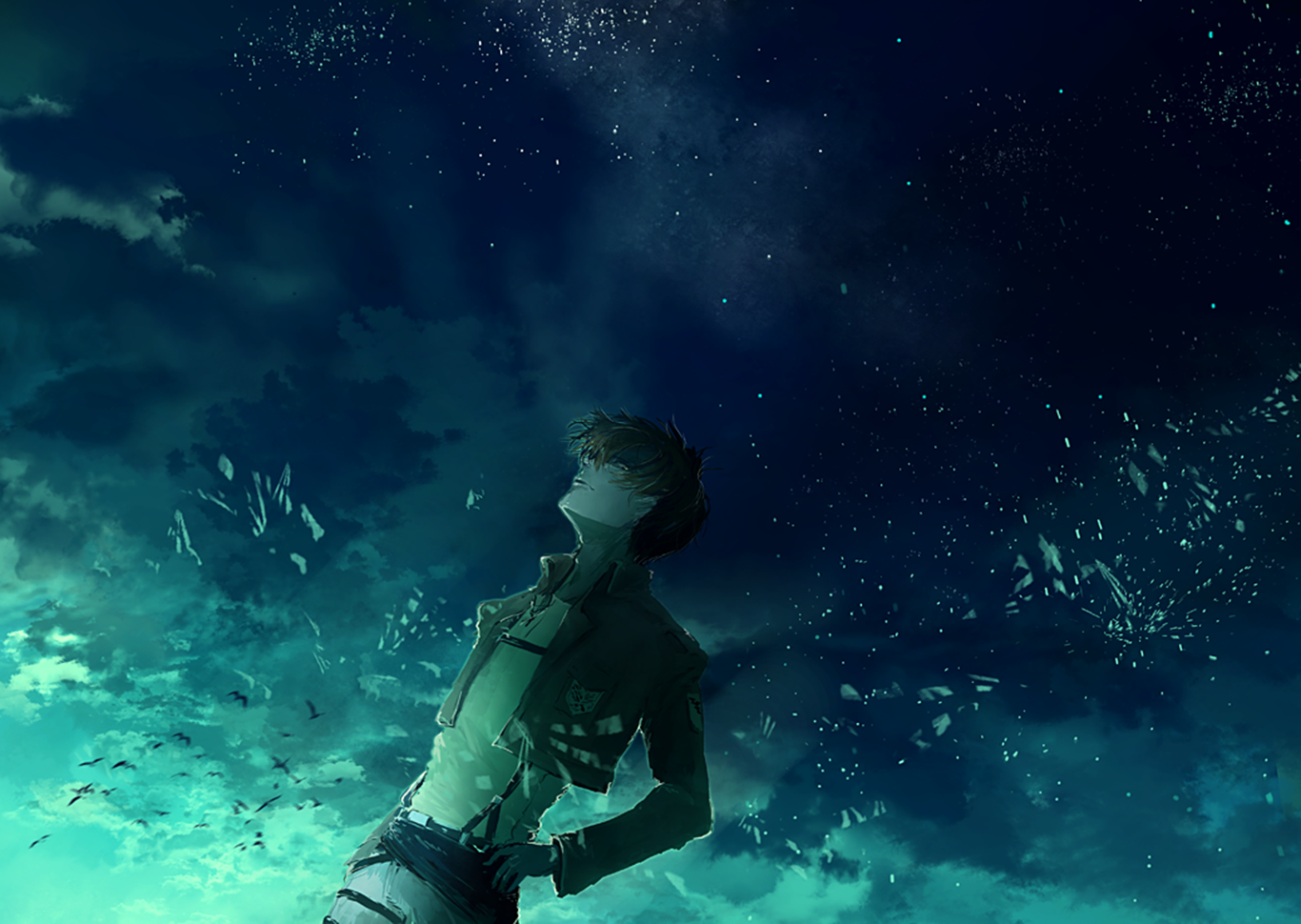 Levi Ackerman Wallpaper And Background Image 1366x970 Id 665357 Wallpaper Abyss