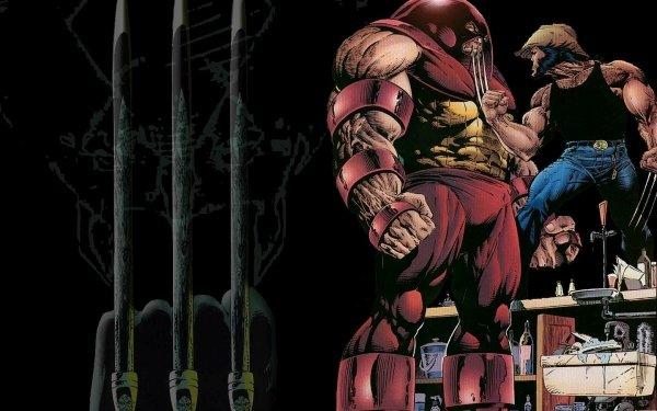 Comics X-Men Wolverine Marvel Comics Juggernaut HD Wallpaper | Background Image