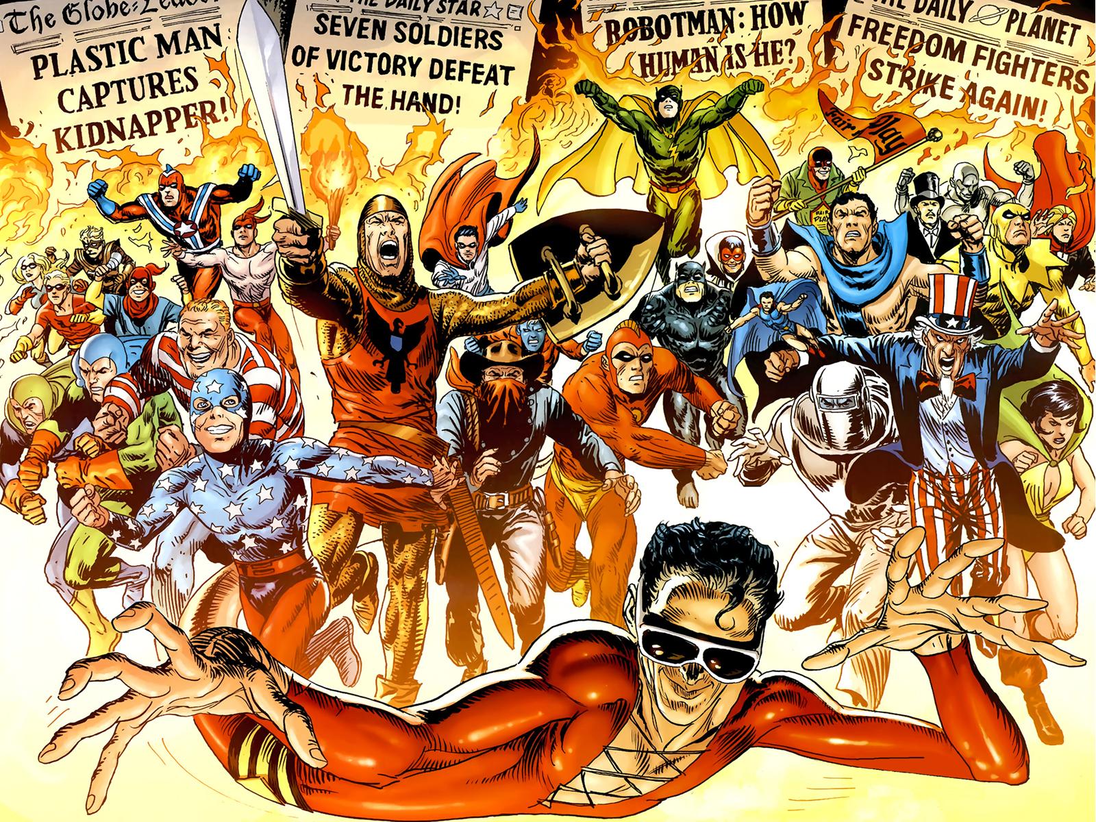 DC Comics Fondo De Pantalla And Fondo De Escritorio