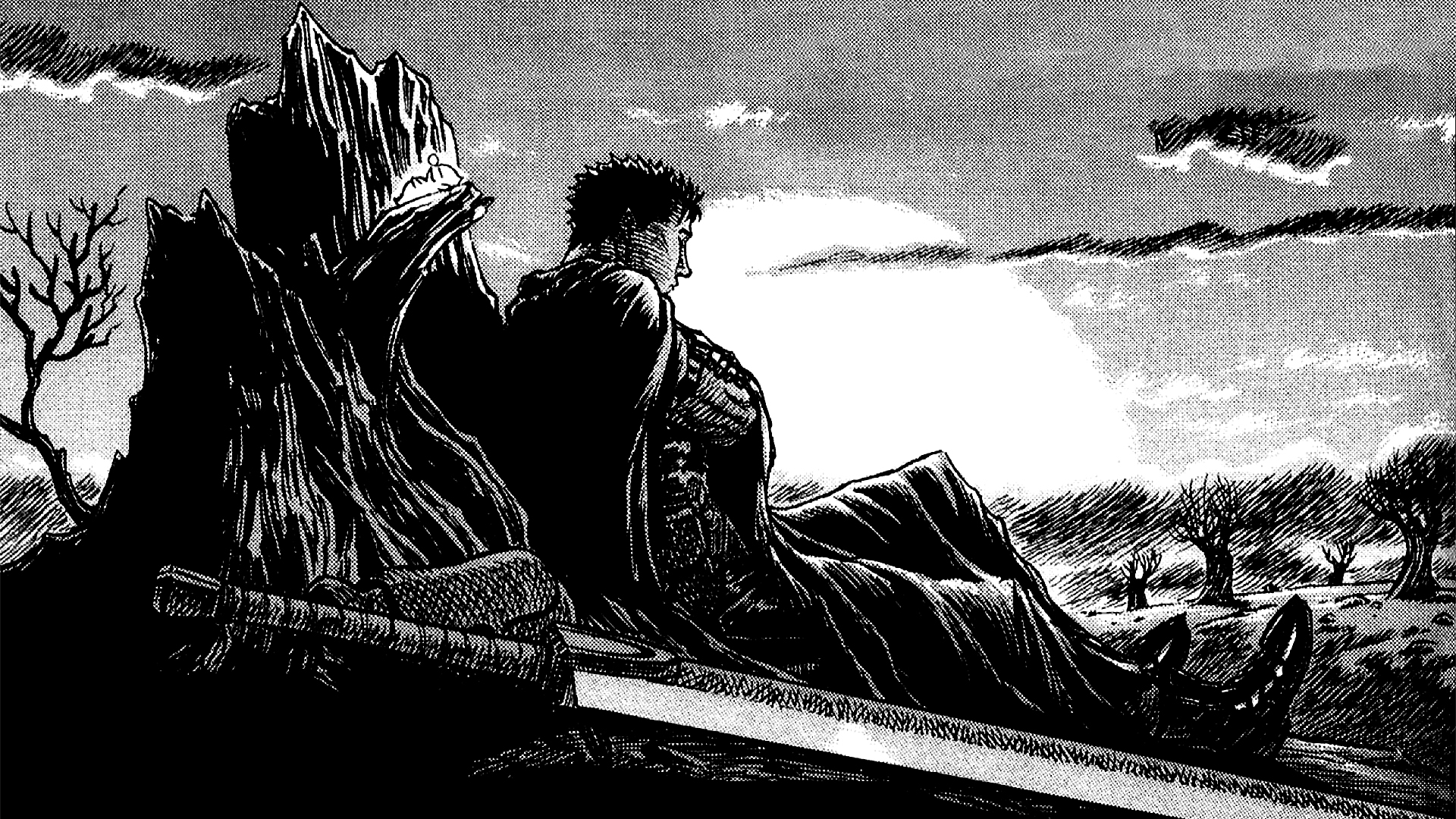 Uneasy sunset full hd wallpaper and background image - Berserk anime wallpaper ...