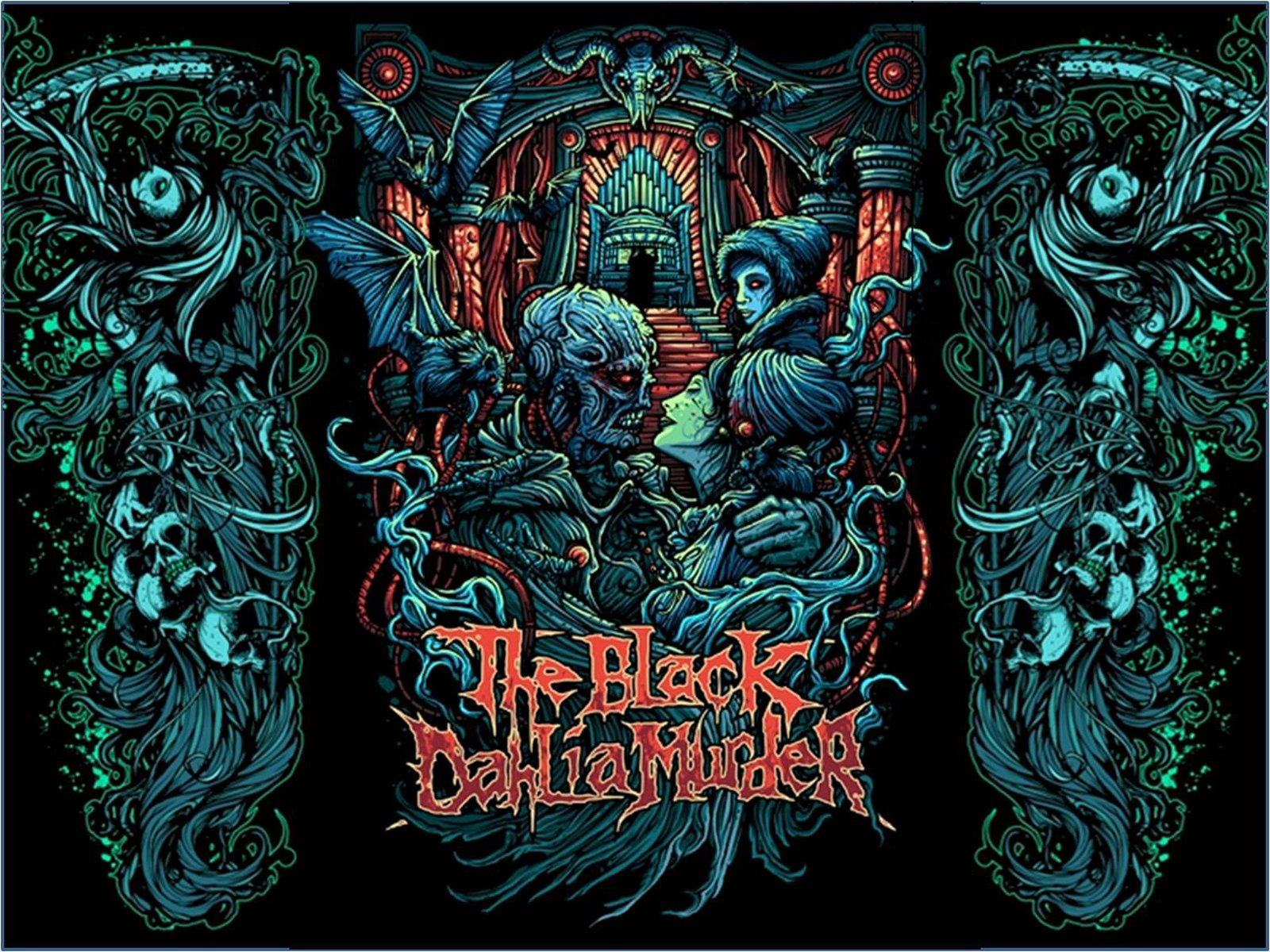 The Black Dahlia Murder Wallpaper and Background