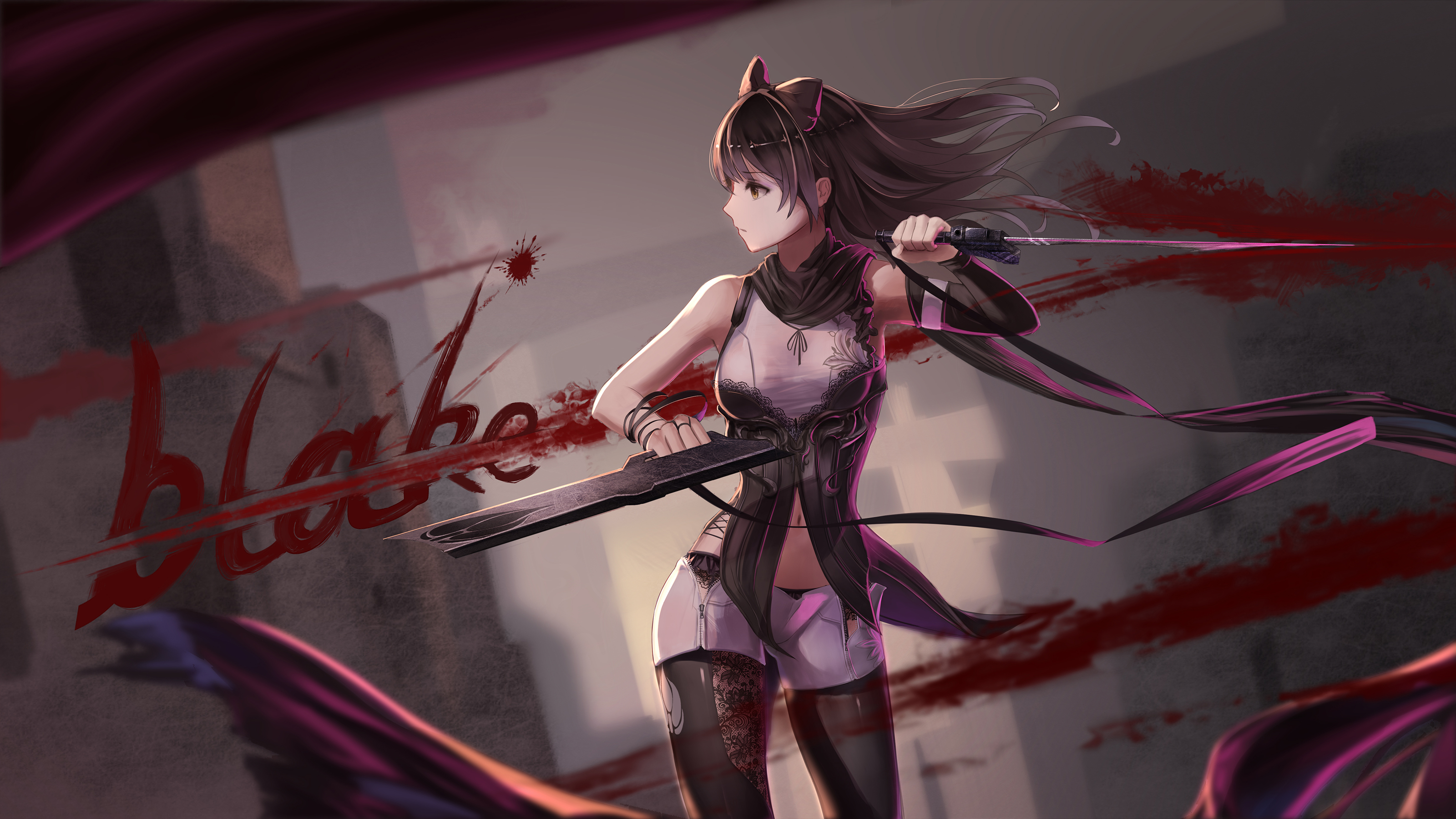 rwby full hd wallpaper and background image 3200x1800