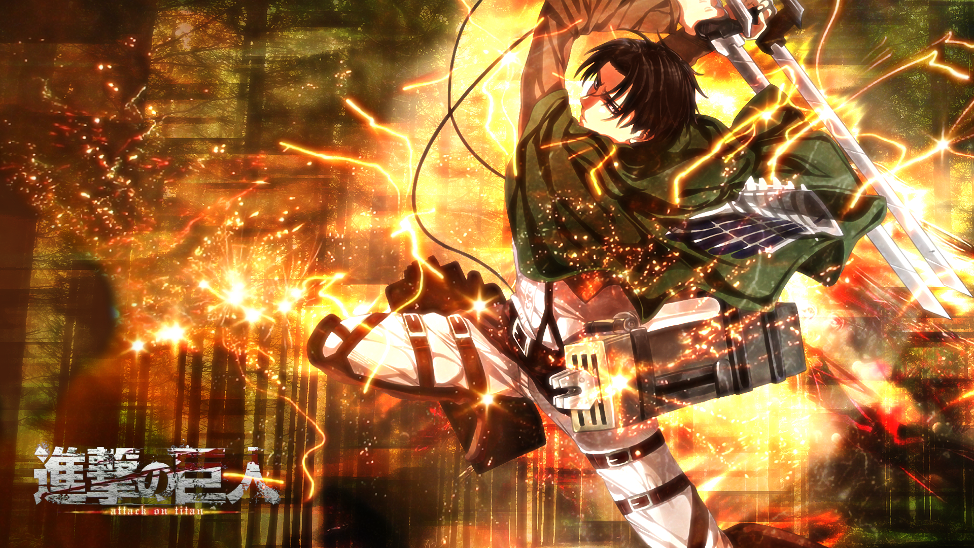 Levi Ackerman Hd Wallpaper Background Image 1920x1080 Id 669414 Wallpaper Abyss