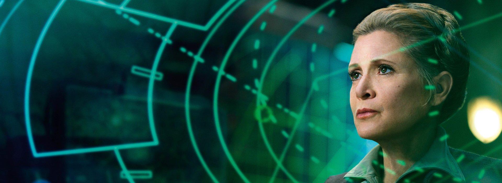 电影 - 星球大战7:原力觉醒  星球大战 Princess Leia Carrie Fisher 壁纸