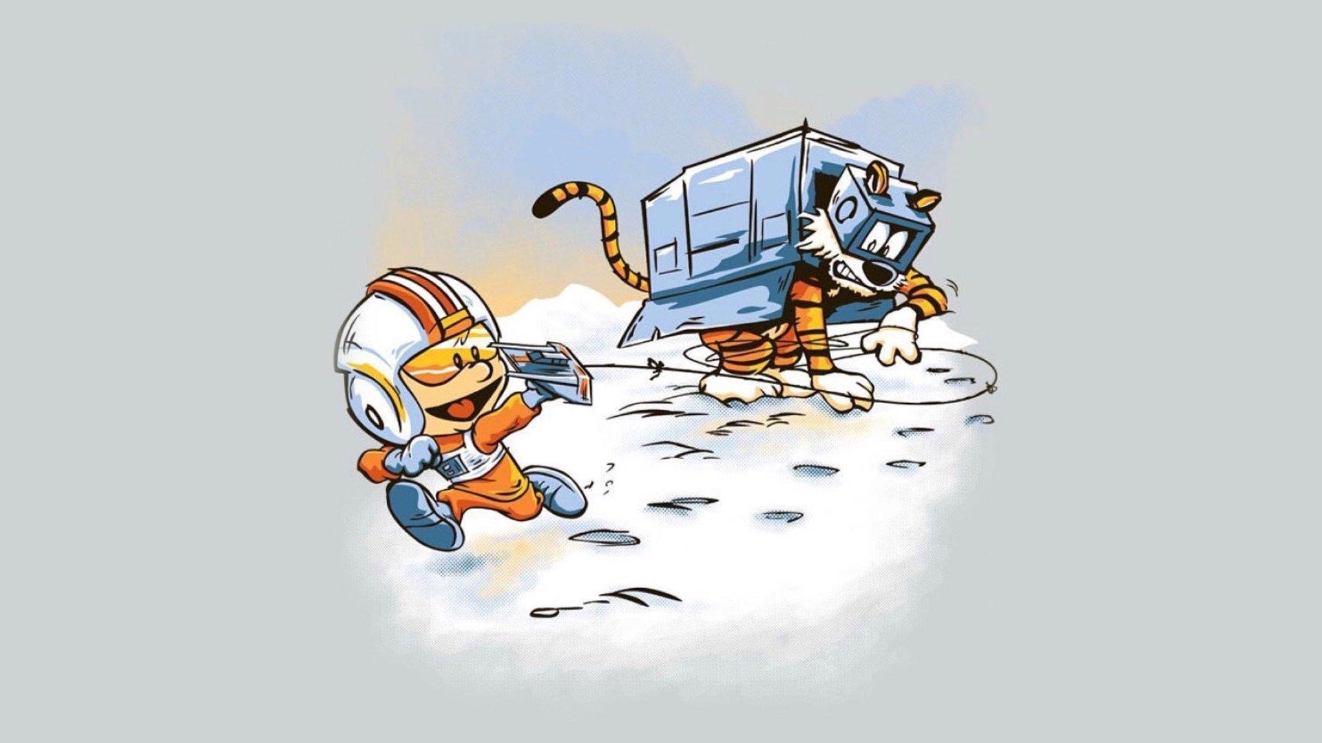 Calvin Hobbes Hd Wallpaper Background Image 1920x1080 Id