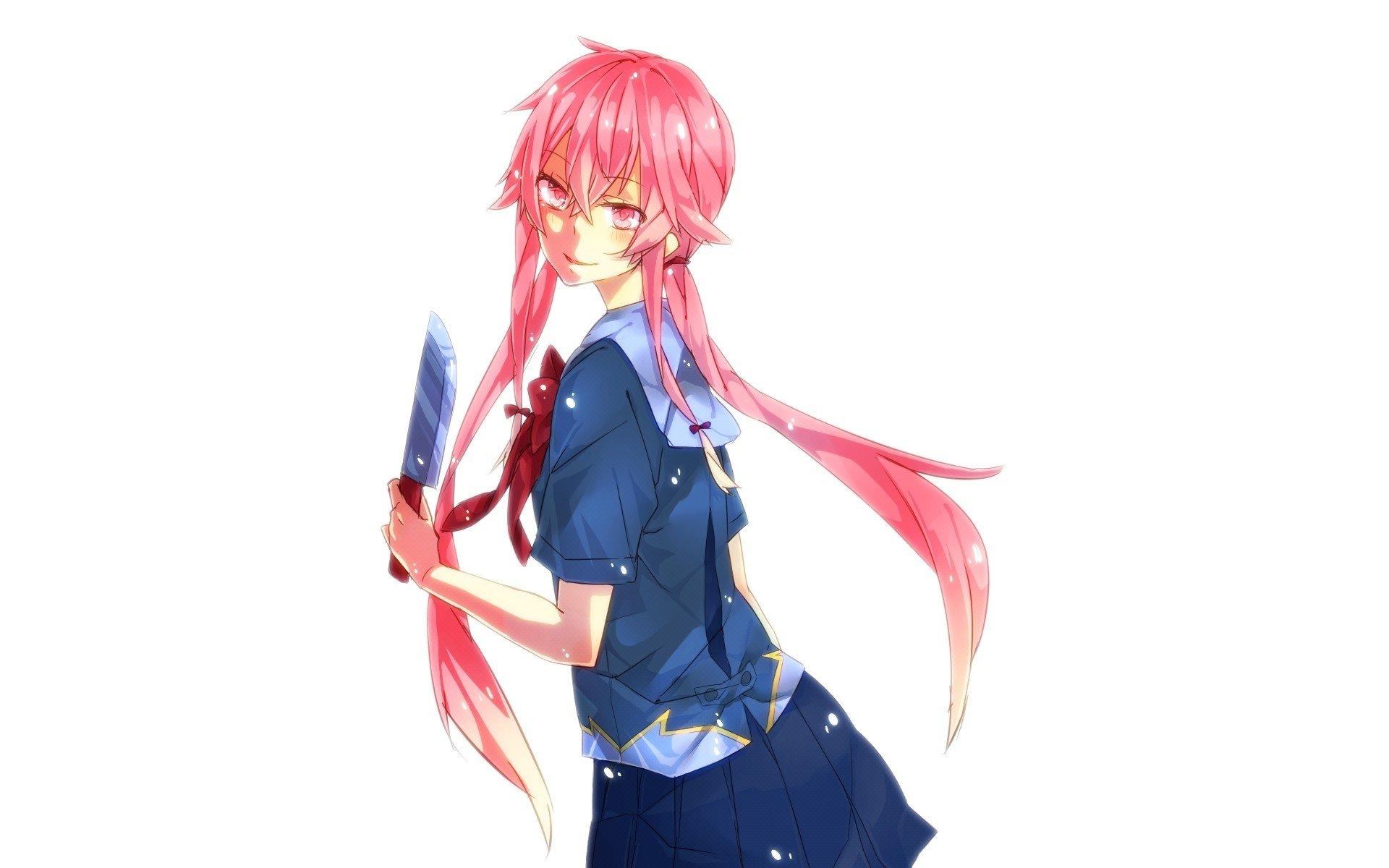 Gasai Yuno - Mirai Nikki HD Wallpaper   Background Image ...