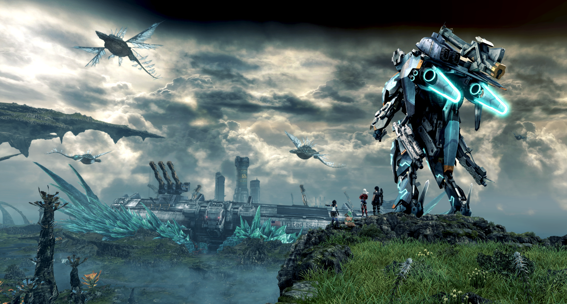 11 Xenoblade Chronicles X Hd Wallpapers Background Images