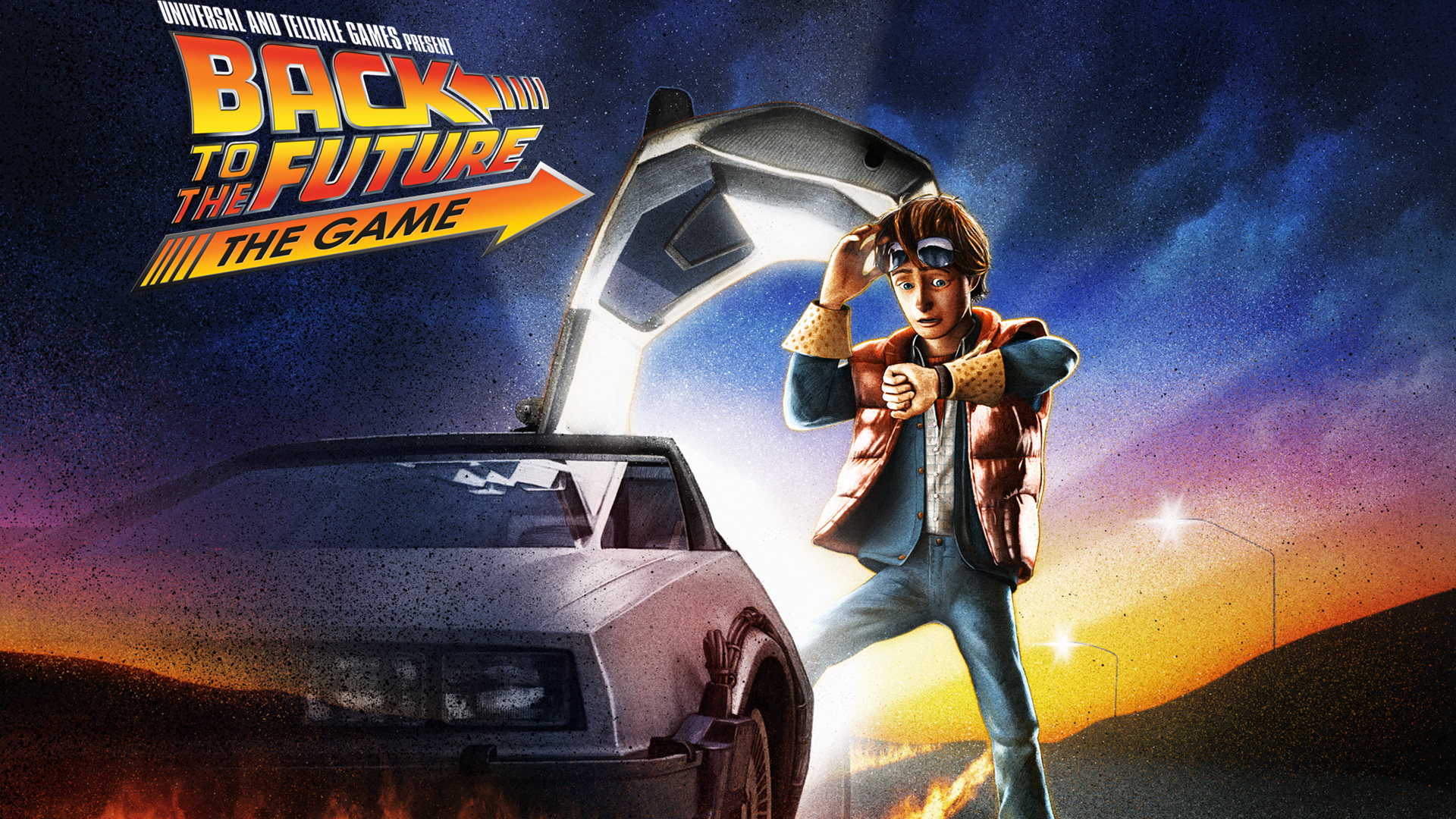 Back To The Future The Game Hd Wallpaper Background Image