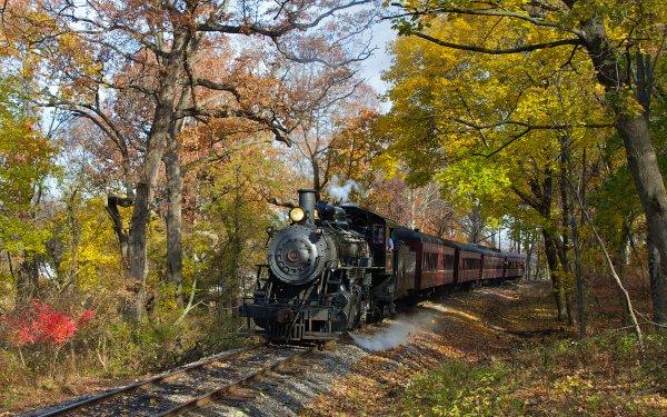 Vehicles Train Steam Train Locomotive HD Wallpaper   Background Image