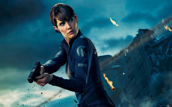 Movie The Avengers Cobie Smulders Maria Hill Avengers HD Wallpaper | Background Image