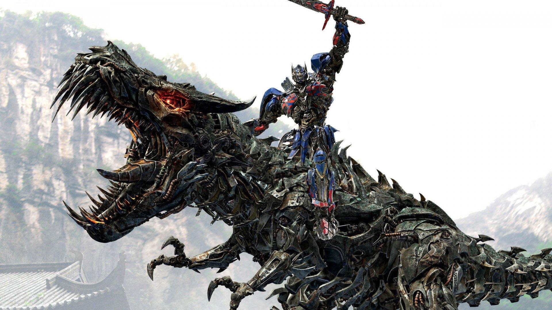 Movie - Transformers: Age of Extinction  Optimus Prime Dragon Robot Wallpaper