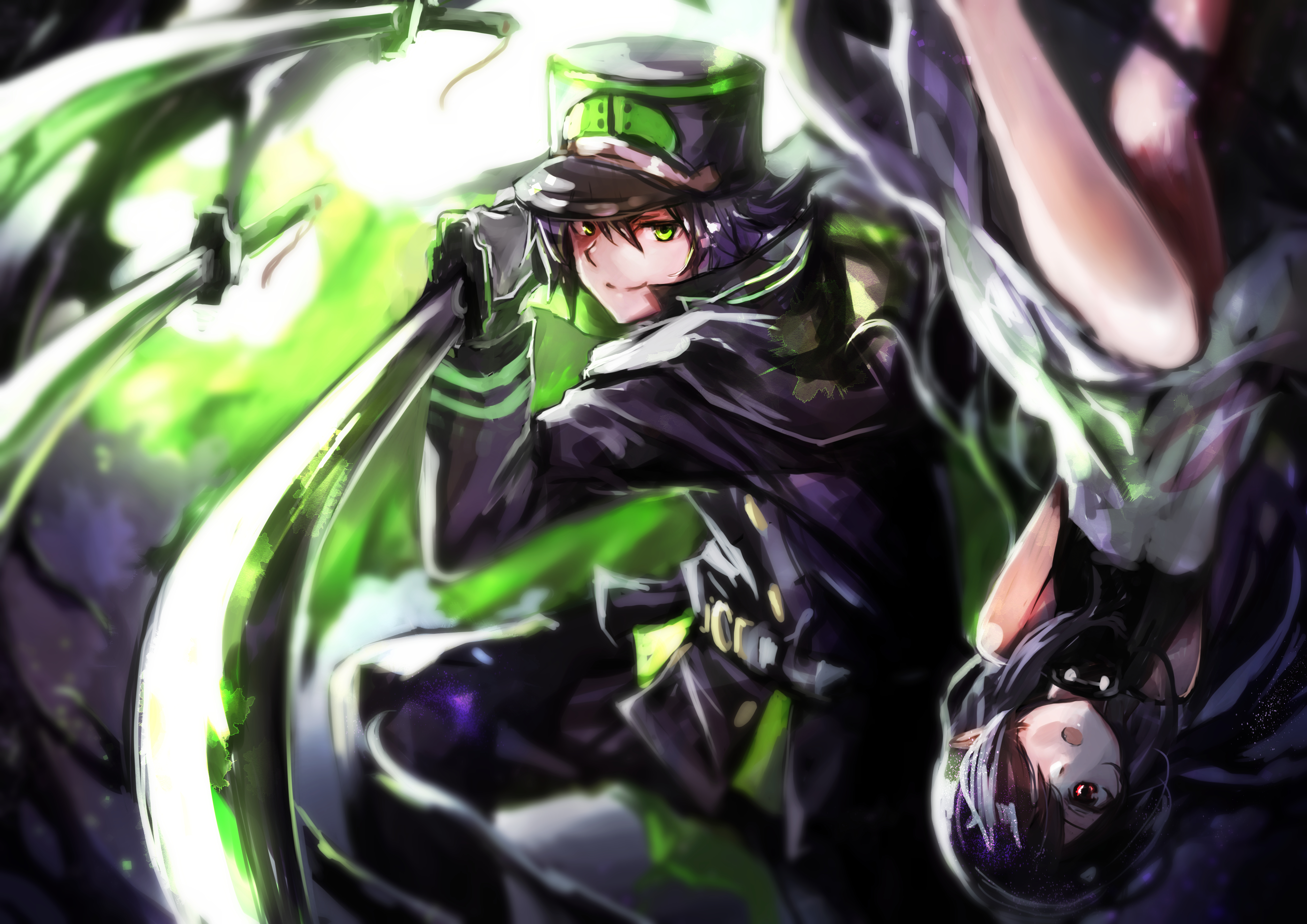 3 Asuramaru Seraph Of The End Hd Wallpapers Background Images