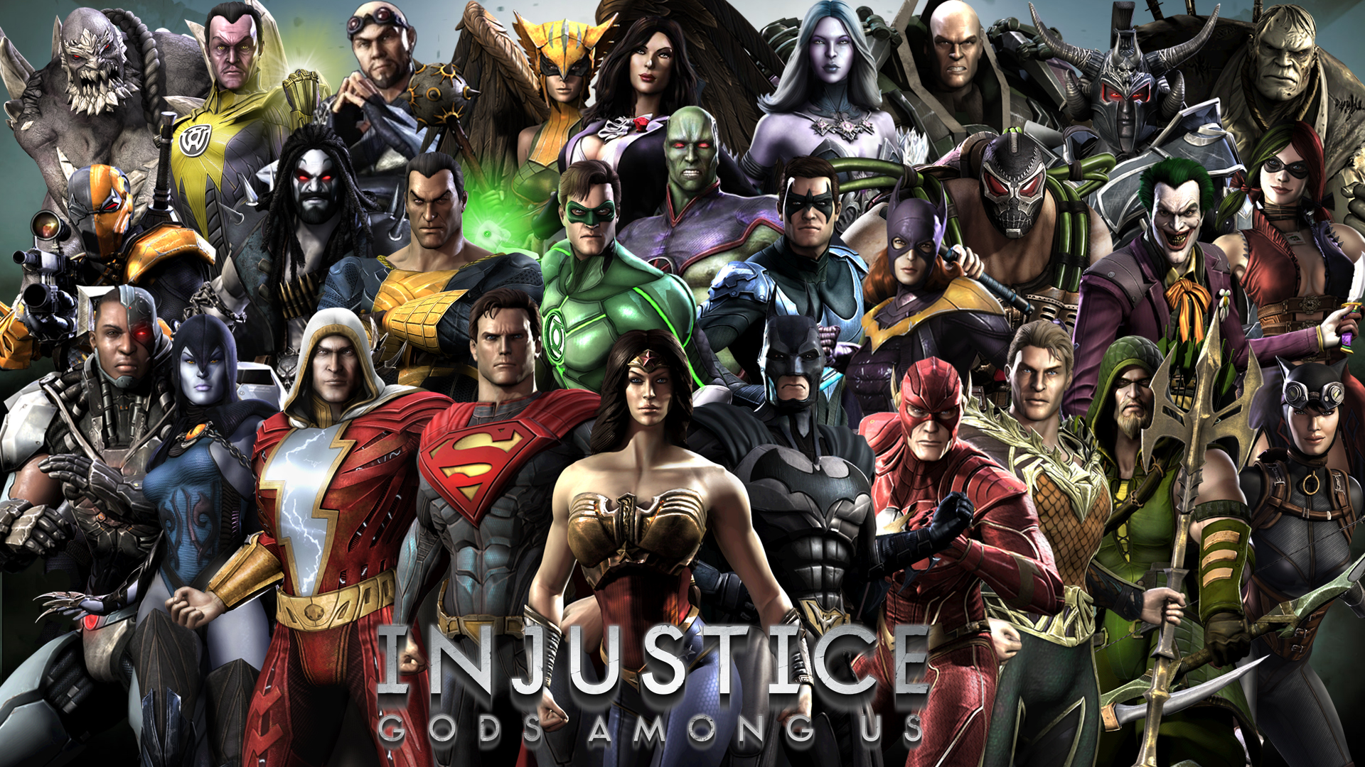 Injustice Gods Among Us Hd Wallpaper Background Image 1920x1080 Id 675927 Wallpaper Abyss
