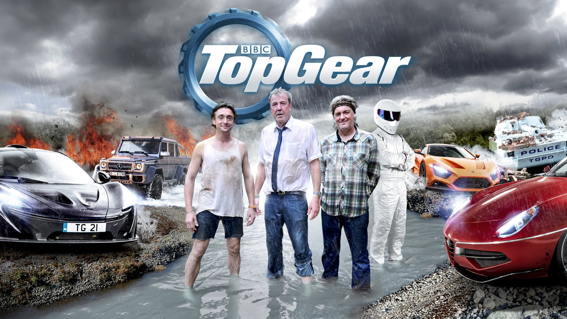 TV Show - Top Gear  The Stig (Top Gear) Car Wallpaper