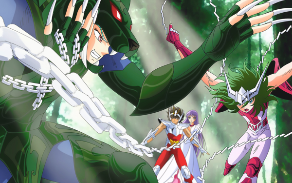 Anime Saint Seiya Andromeda Shun Mizar Syd Pegasus Seiya Athena HD Wallpaper | Background Image