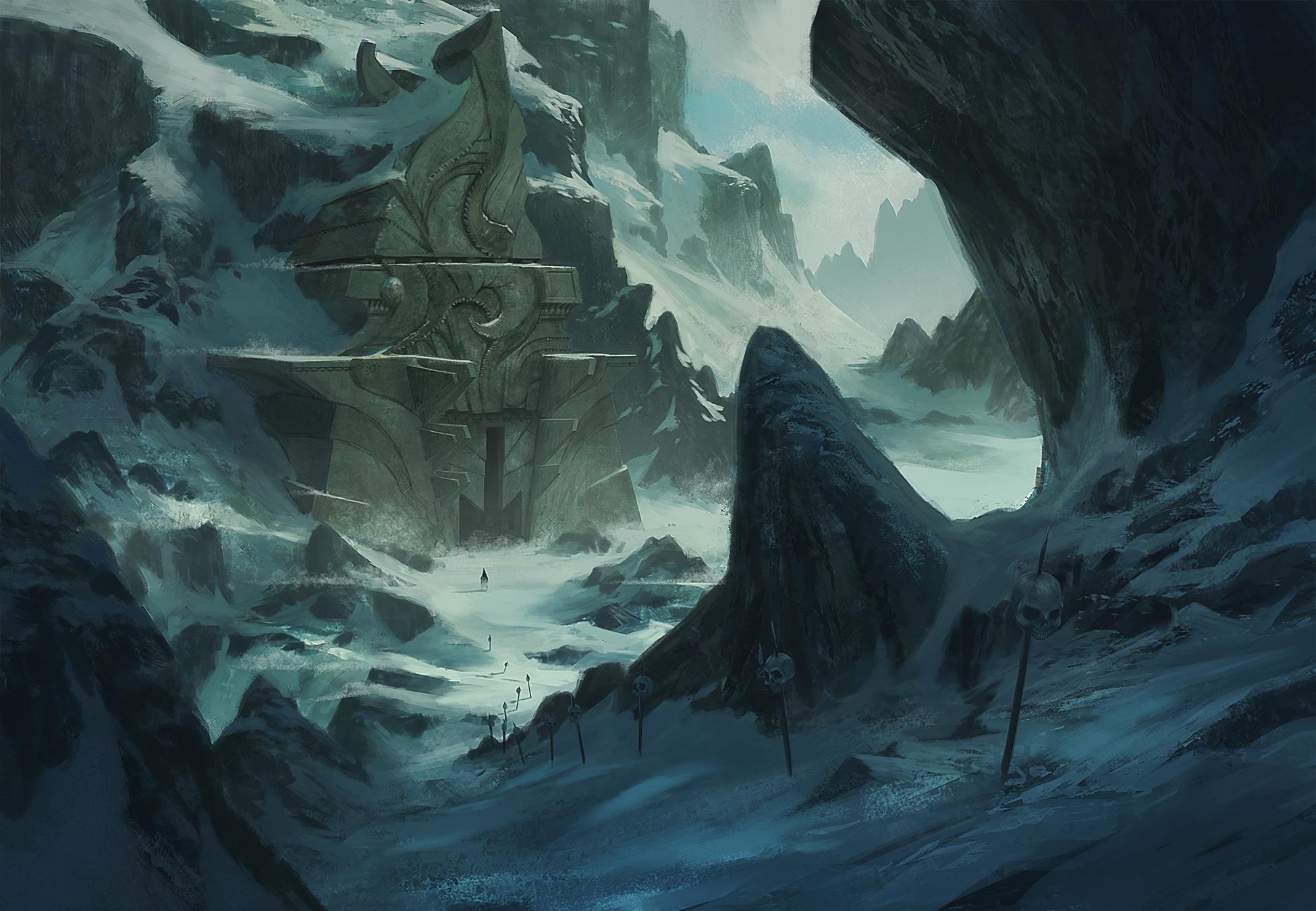 evil landscape background - photo #3