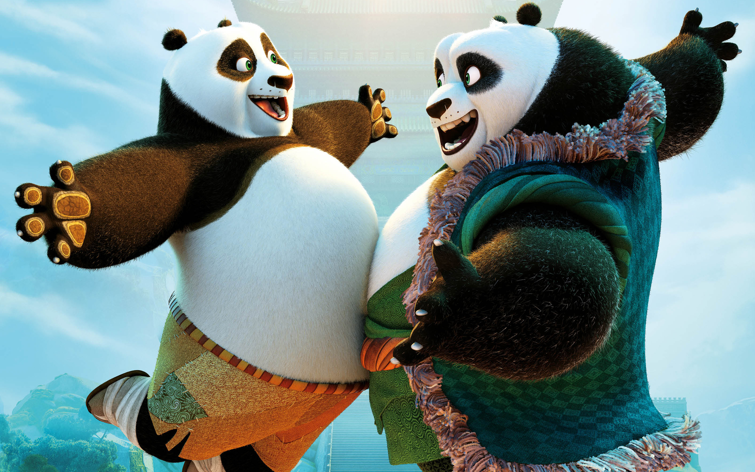 kung fu panda 3 full hd wallpaper and background image | 2880x1800